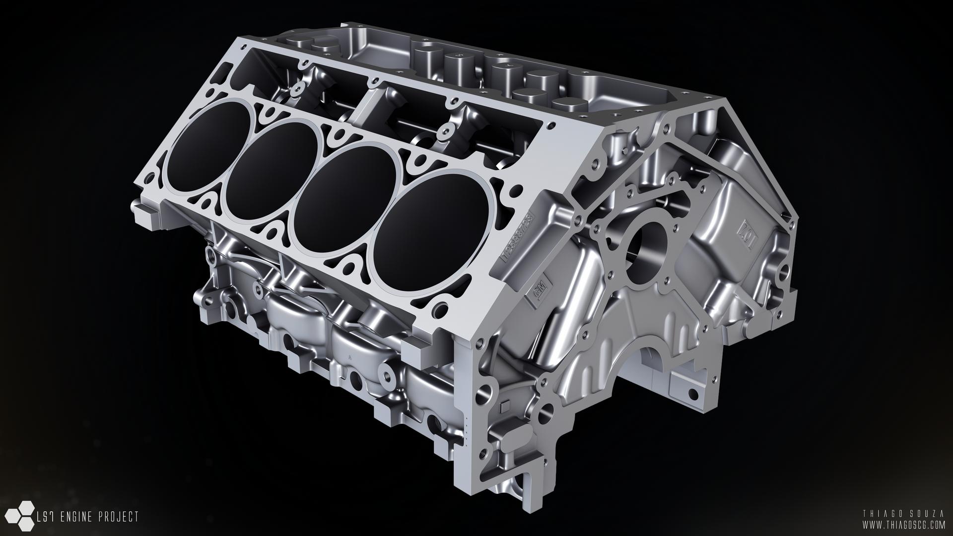 Chevrolet GM LS7 7.0L V8 Engine | SMCars.Net   Car .