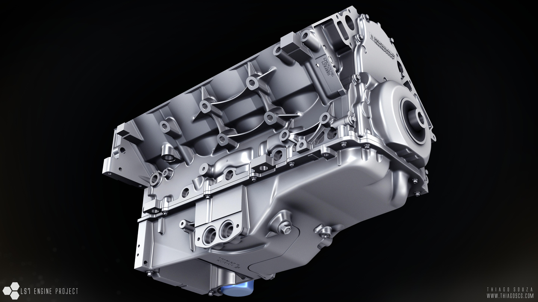 v8 engine blueprints - photo #31